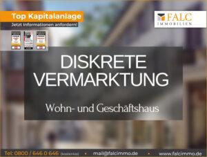 Mehrfamilienhaus mit Gewerbeeinheit in Duisburg Rheinhausen mit einer Nettorendite von 4,93 %